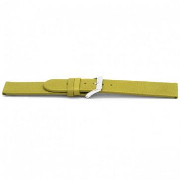 Cinturino orologio in pelle G862 verde oliva, 20mm
