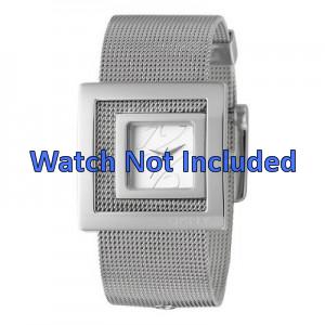 DKNY cinturino orologio NY4302 Acciaio Argento 24mm