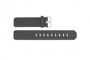 Cinturino per orologio Jacob Jensen 400 / 410 / 411 / 412 Gomma Nero 17mm