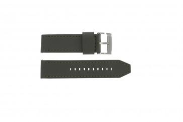 Fossil cinturino orologio JR1419 Pelle Grigio 24mm + cuciture grigio
