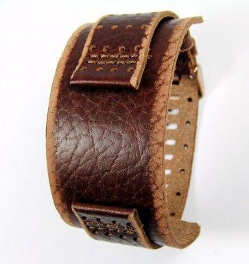 Fossil cinturino orologio JR9040 Pelle Marrone 22mm