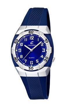 autentica di fabbrica 1760d f9c6d Cinturino per orologio Calypso K5215-3 Gomma Blu