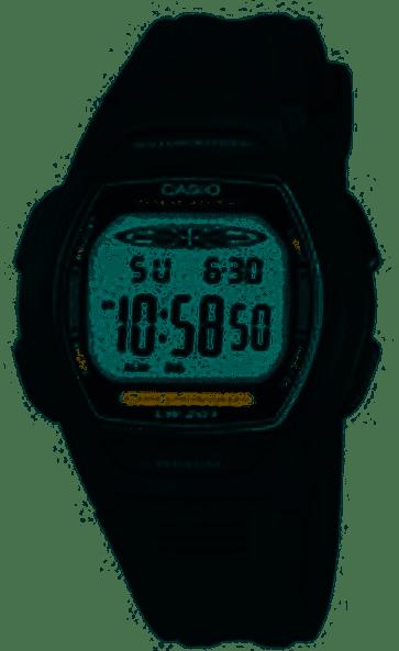 Casio cinturino orologio 10177113 Plastica Nero 15mm