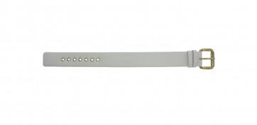Cinturino per orologio Marc by Marc Jacobs MBM1150 Pelle Bianco 21mm