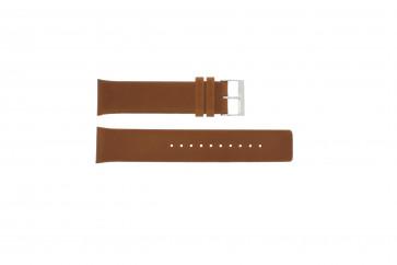Cinturino per orologio Skagen SKW6086 Pelle Cognac 22mm