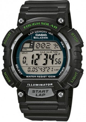 Casio cinturino orologio 71605090 Plastica Trasparente 15mm