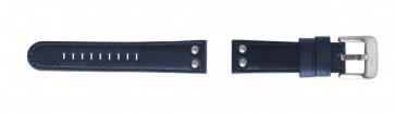 Cinturino per orologio TW Steel TWB400 Pelle Blu 22mm