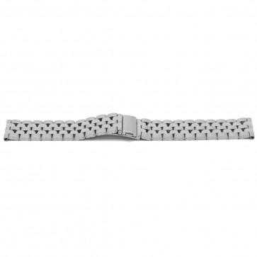 Cinturino dell'orologio YJ27 Metallo Argento 26mm