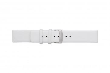 Morellato cinturino dell'orologio Large X3076875017CR26 / PMX017LARGE26 Cuoio morbido Bianco 26mm