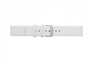 Morellato cinturino dell'orologio Large X3076875017CR28 / PMX017LARGE28 Cuoio morbido Bianco 28mm