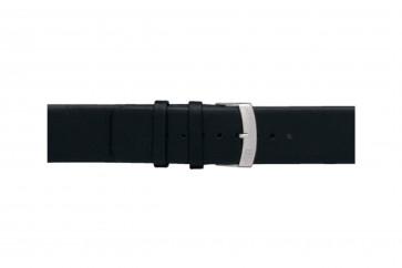 Morellato cinturino dell'orologio Large X3076875019CR28 / PMX019LARGE28 Cuoio morbido Nero 28mm
