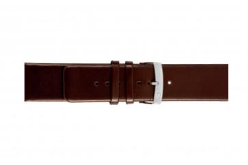 Morellato cinturino dell'orologio Large X3076875032CR30 / PMX032LARGE30 Cuoio morbido Marrone scuro 30mm
