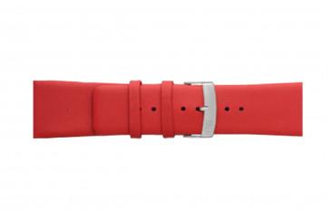 Morellato cinturino dell'orologio Large X3076875083CR30 / PMX083LARGE30 Cuoio morbido Rosso 30mm
