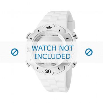 Adidas cinturino orologio ADH1768 Silicone Bianco 16mm