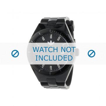 Adidas cinturino dell'orologio ADH2047 Silicone Nero 22mm