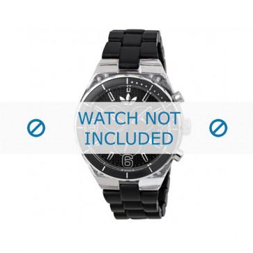 Adidas cinturino orologio ADH2542 Plastica Nero 8mm