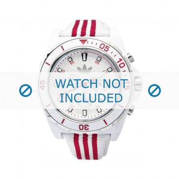 Adidas cinturino orologio ADH2666 Silicone Bianco 24mm