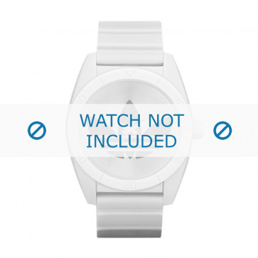 Adidas cinturino orologio ADH2703 Silicone Bianco 22mm