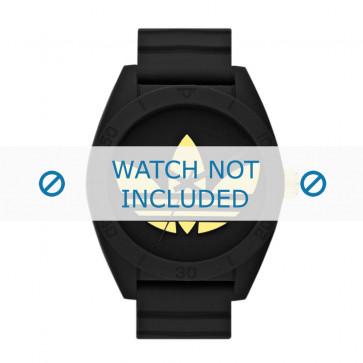 Adidas cinturino orologio ADH2712 Silicone Nero 24mm