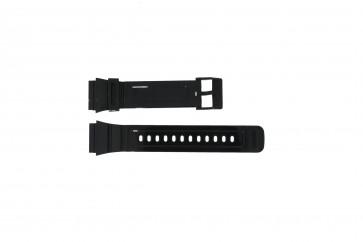 Adidas cinturino dell'orologio ADH6092 Gomma Nero 22mm