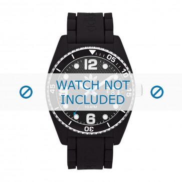 Adidas cinturino orologio ADH6151 Gomma Nero 22mm