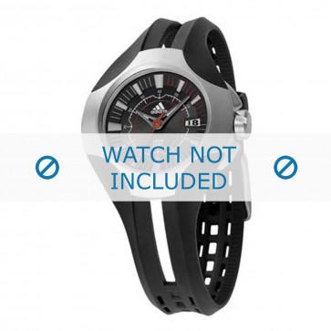 Adidas cinturino dell'orologio ADP1074 Gomma / plastica Nero