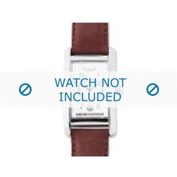 Cinturino per orologio Armani AR0104 Pelle Cognac 18mm