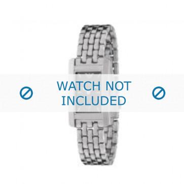 Armani cinturino orologio AR-0114 Acciaio Argento 14mm