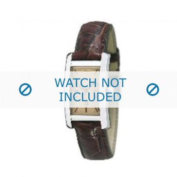 Armani cinturino orologio AR-0125 Pelle di coccodrillo Marrone 18mm