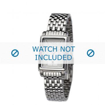 Armani cinturino orologio AR-0138 Acciaio Argento 14mm