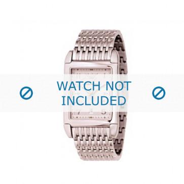 Armani cinturino orologio AR-0273 Acciaio Oro (Rosé) 22mm