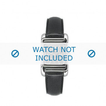 Armani cinturino orologio AR-0304 Pelle Nero 12mm