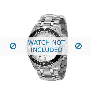 Armani cinturino orologio AR-0586 Acciaio Argento 26mm