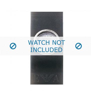 Armani cinturino orologio AR-1001 Gomma Grigio 24mm