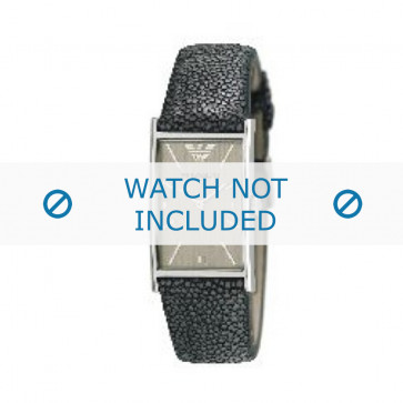 Armani cinturino orologio AR-2409 Pelle Grigio 22mm