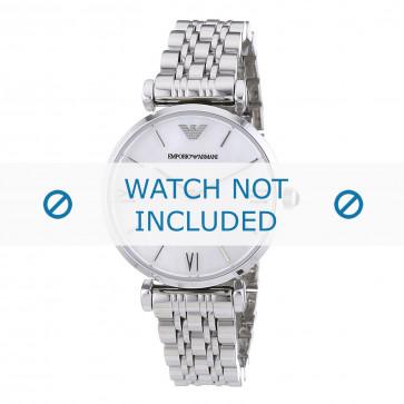 Cinturino per orologio Armani AR1682 Acciaio inossidabile Acciaio 14mm