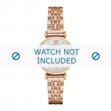 Armani cinturino dell'orologio AR1909 Metallo Salito 14mm
