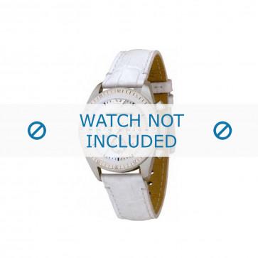 Armani cinturino orologio AR-5664 Pelle Bianco 20mm