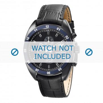 Cinturino per orologio Armani AR5916 Pelle Nero 22mm