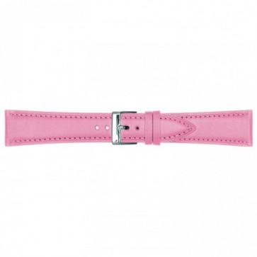 Cinturino orologio in pelle, rosa, 14mm 662