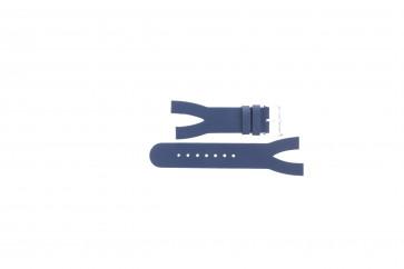 Cinturino per orologio Davis BB1403 Pelle Blu 10mm