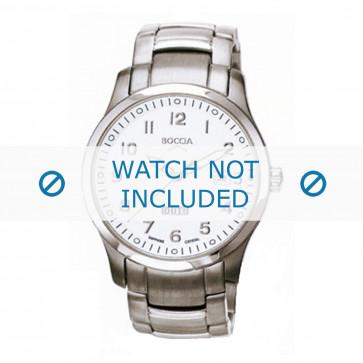 Boccia cinturino dell'orologio 3530-07 Titanio Argento 20mm