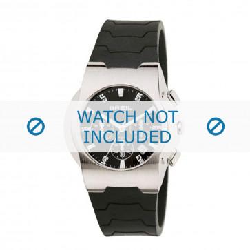 Breil cinturino dell'orologio 2519773538 Gomma / plastica Nero