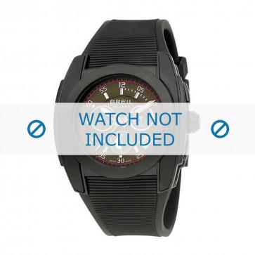 Breil cinturino dell'orologio BW0379 Gomma / plastica Nero