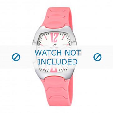 Calypso cinturino dell'orologio K5161-1 Gomma / plastica Rosa 11mm