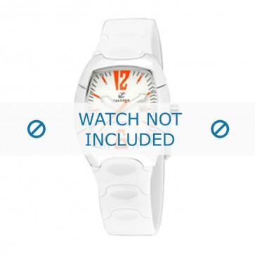 Calypso cinturino dell'orologio K5161-4 Gomma / plastica Bianco 11mm