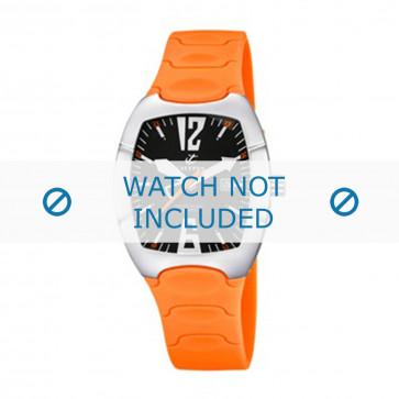 Calypso cinturino dell'orologio K5161-9 Gomma / plastica Arancione 11mm