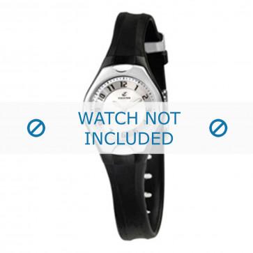 Cinturino per orologio Calypso K5163-2 Gomma Nero 8mm