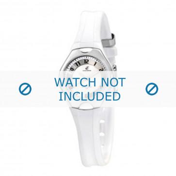 Calypso cinturino dell'orologio K5163-7 Gomma / plastica Bianco