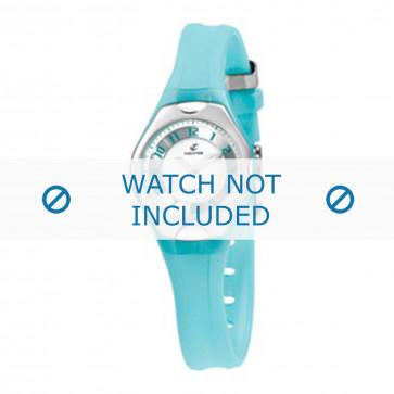 Calypso cinturino dell'orologio K5163-D Gomma / plastica Turchese